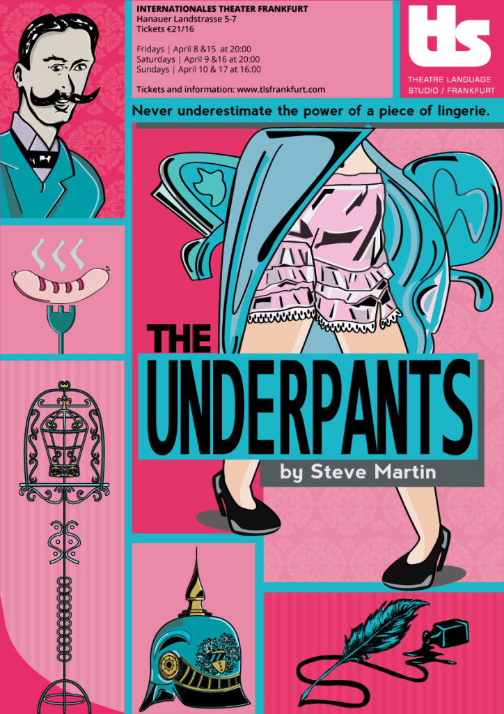 The Underpants Artwork Raquel Travincas