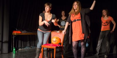 FITS Halloween comedy improvisation