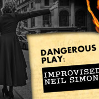 improvised play feats fringe The English Theatre